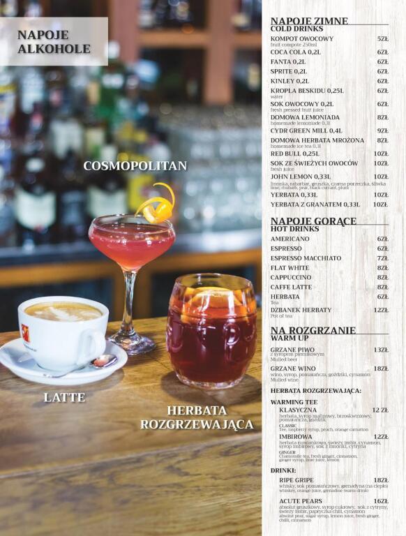Stary Browar Rzeszowski ma nowe menu  Rzeszów  RzeszowskieSmaki pl -> Projekt Kuchnia Stary Browar Menu