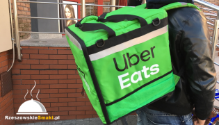 "Uber Eats ""wjechał"" do Rzeszowa"